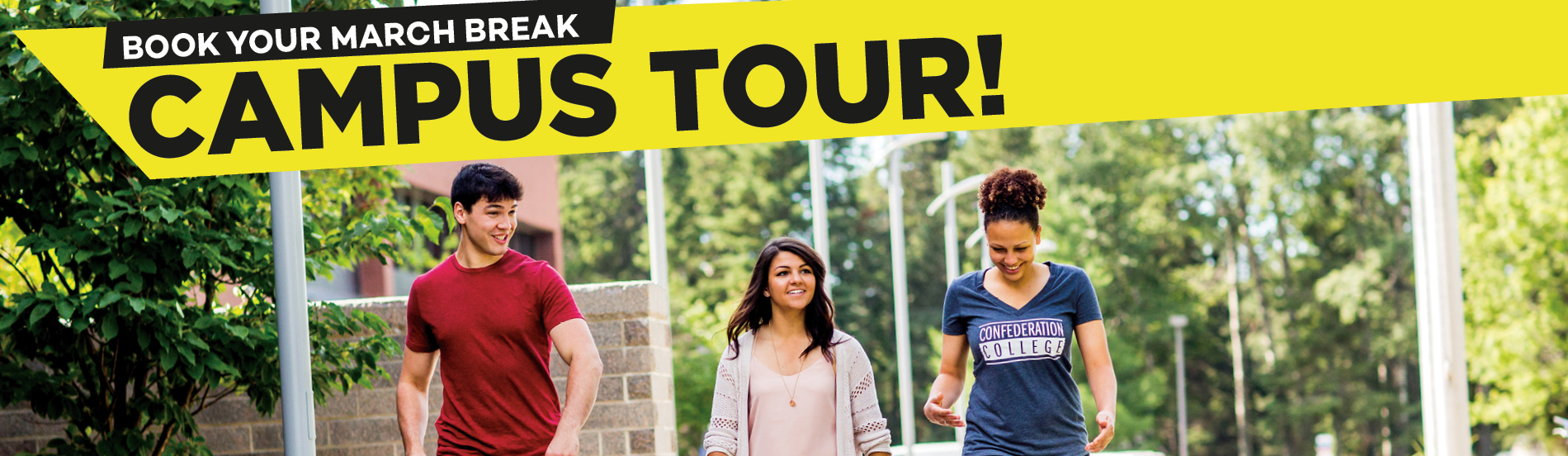 CLICK ... to sign up for a March Break Tour ...