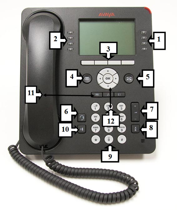 College Phone Set Features (Computer Services