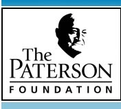 Link to Paterson Foundation website ...