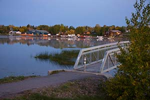 photo - early morning on Pelican Lake Sioux Lookout