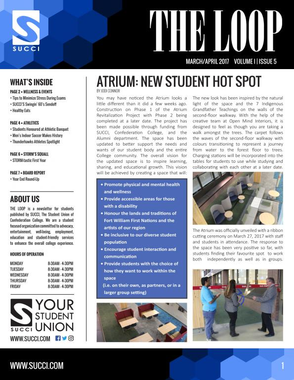 THE LOOP - ISSUE 3 - FRONT PAGE