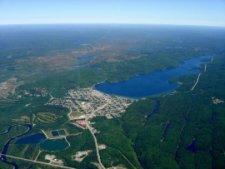 Aerial photo of Wawa