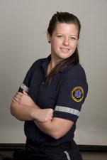 Paramedic student photo