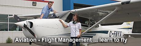 Photo - students & plane