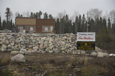 Tim Hortons construction - Red Lake