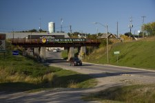 Railway Overpass in Sioux Lookout photo