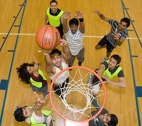 photo of Basketball game