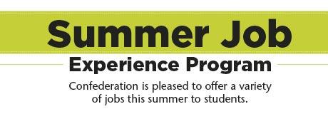 Summer Job Experience Program - header graphic
