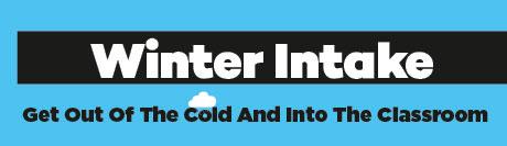 Winter Intake - banner photo