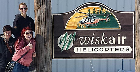 Wisk Air Helicopters tour for Confederation students