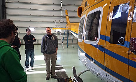 Wisk Air Helicopters tour group photo