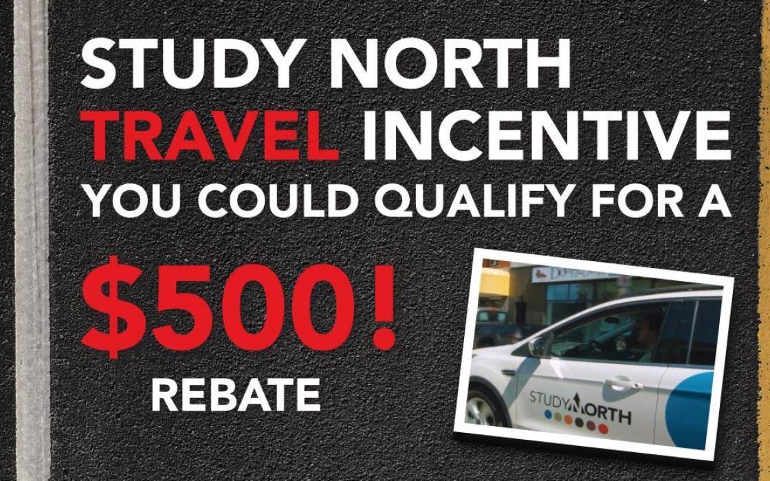 Study North travel incentive
