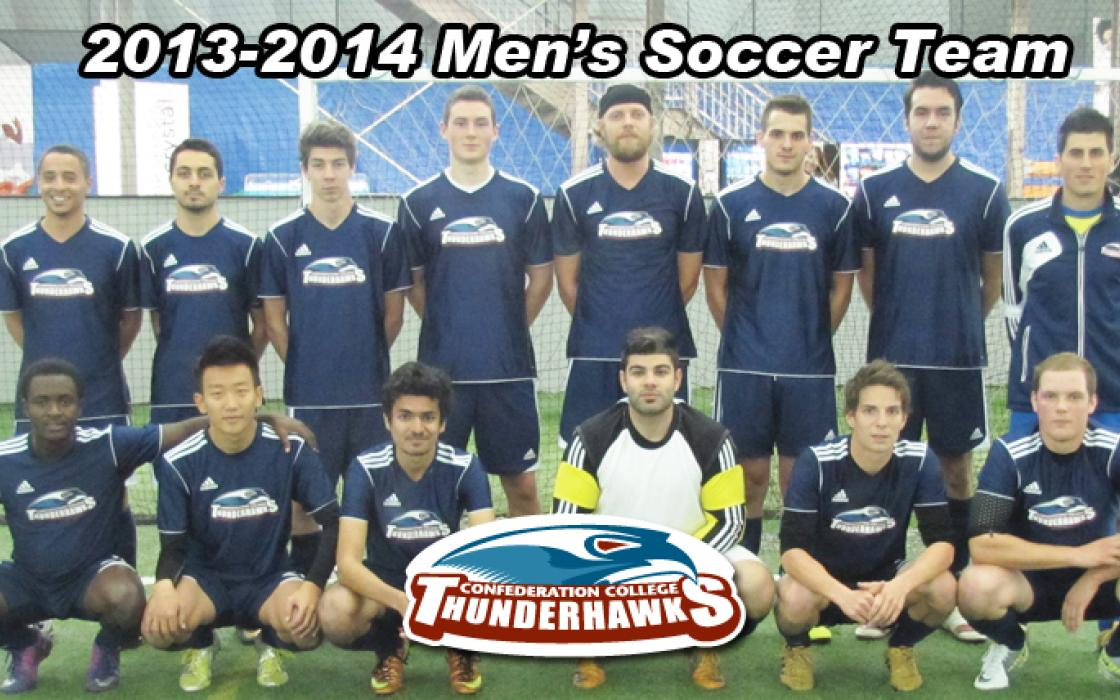 2013-14 Mens Indoor Soccer Team Photo