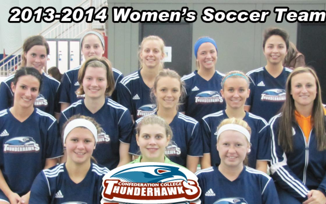 Photo of the 2013-14 Womens Soccer Team