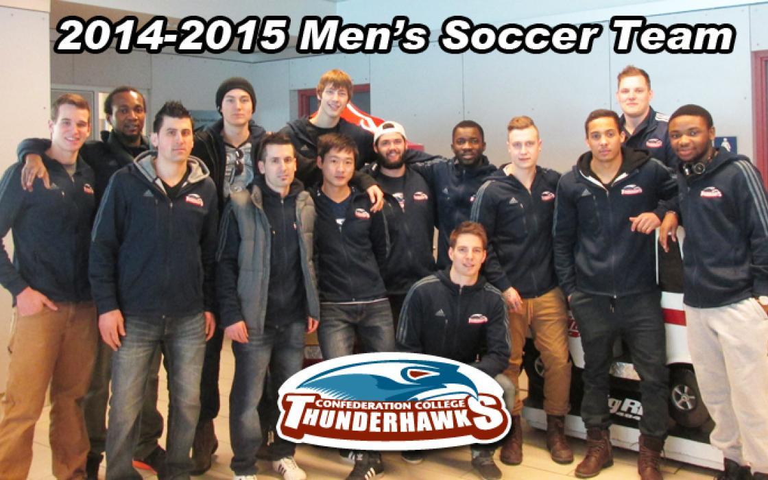 2014-15 Men's Indoor Soccer Team Photo
