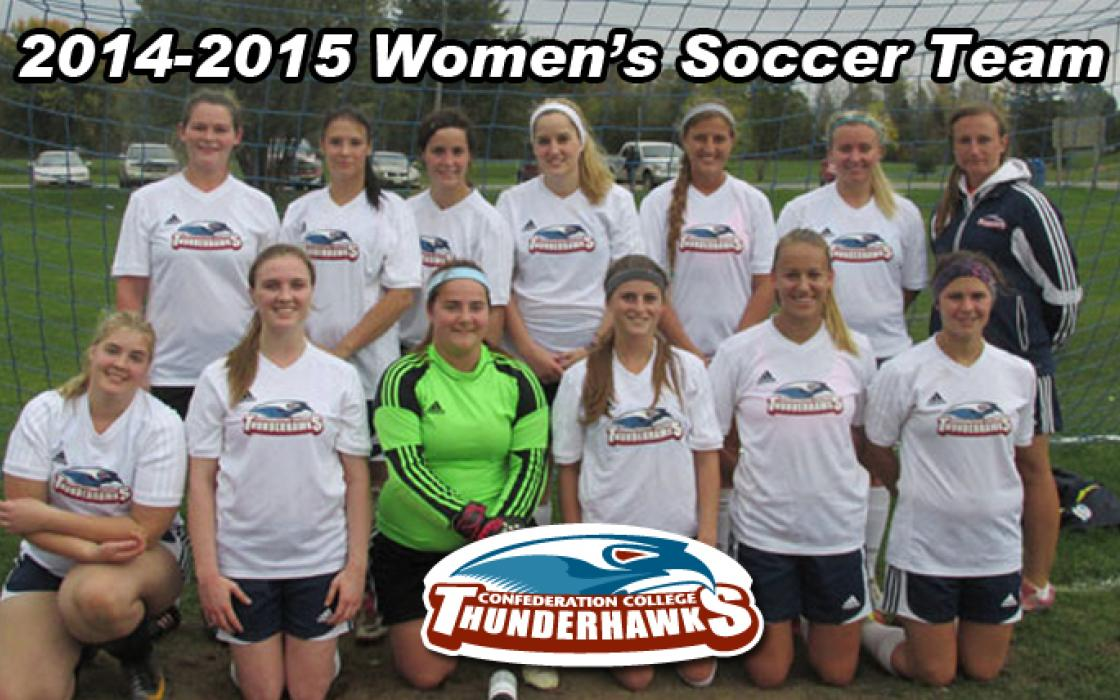 Photo of the 2014-15 Womens Soccer Team