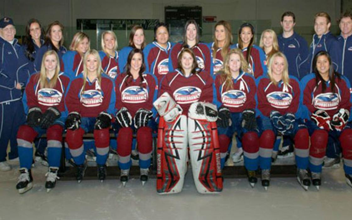 2013-14 Women's Hockey Team