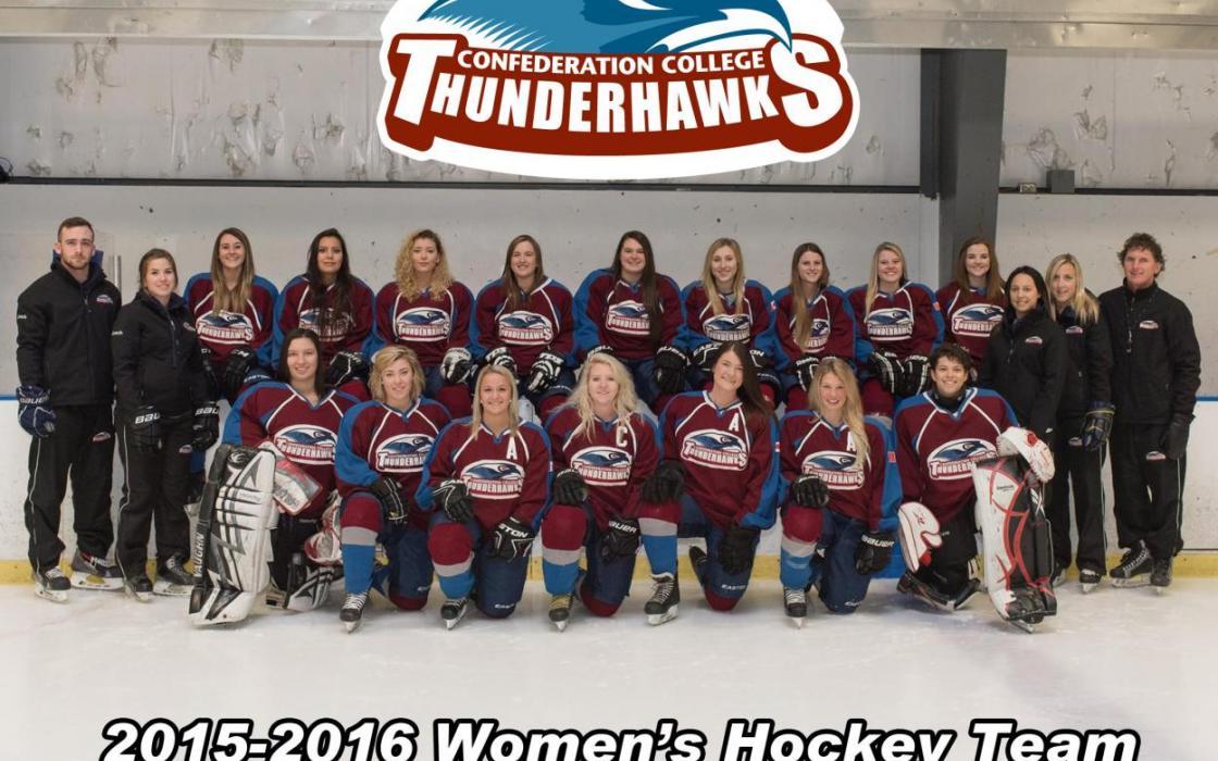 2015-16 Women's Hockey Team