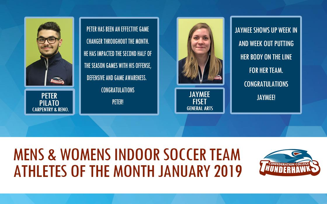 Athlete of the Month Jan