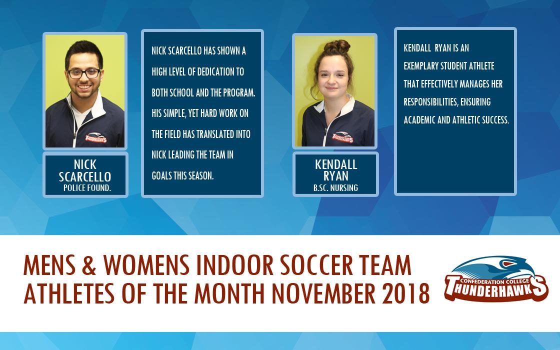 Athlete of the Month Nov