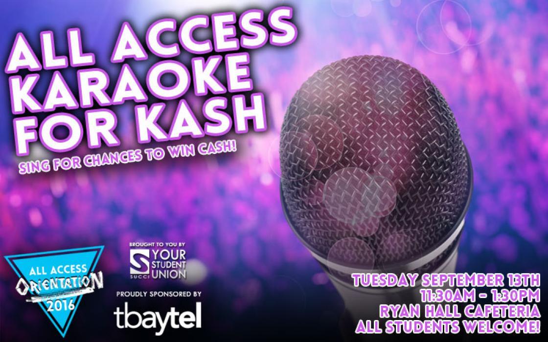 Karaoke For Kash image