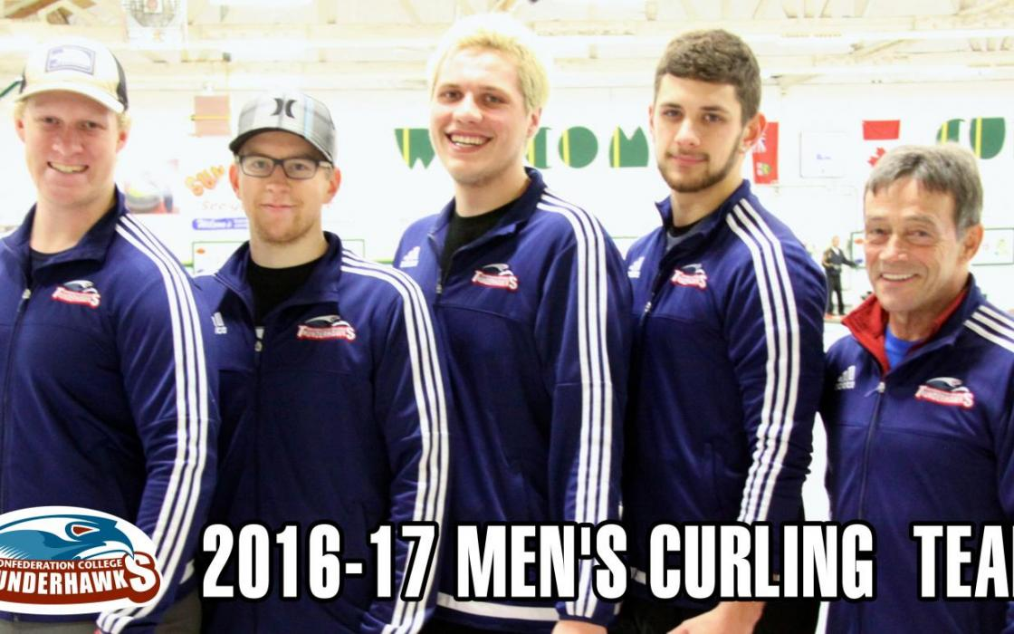 2016-17 Men's Curling Team