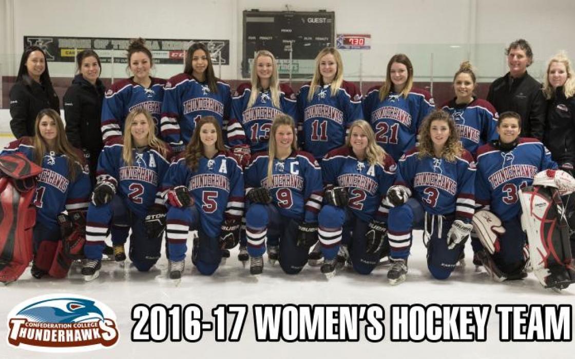 2016-17 Women's Hockey Team
