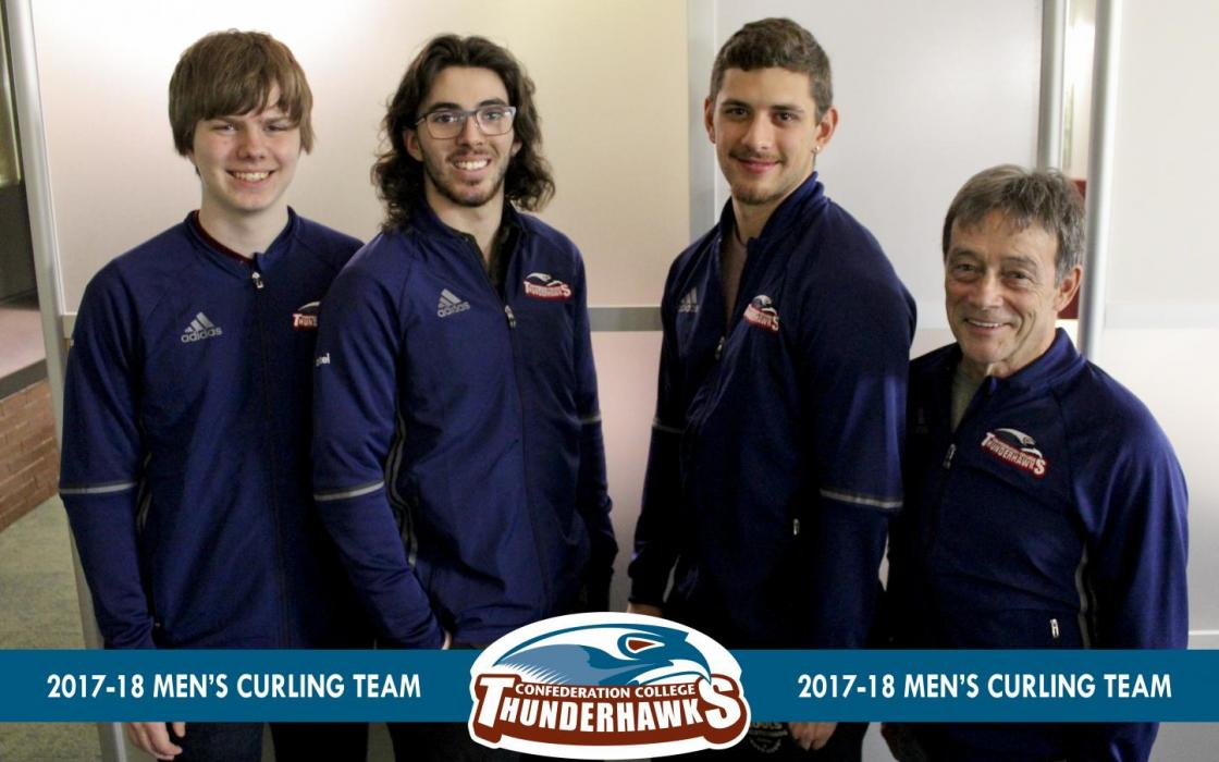 2017-18 Men's Curling Team