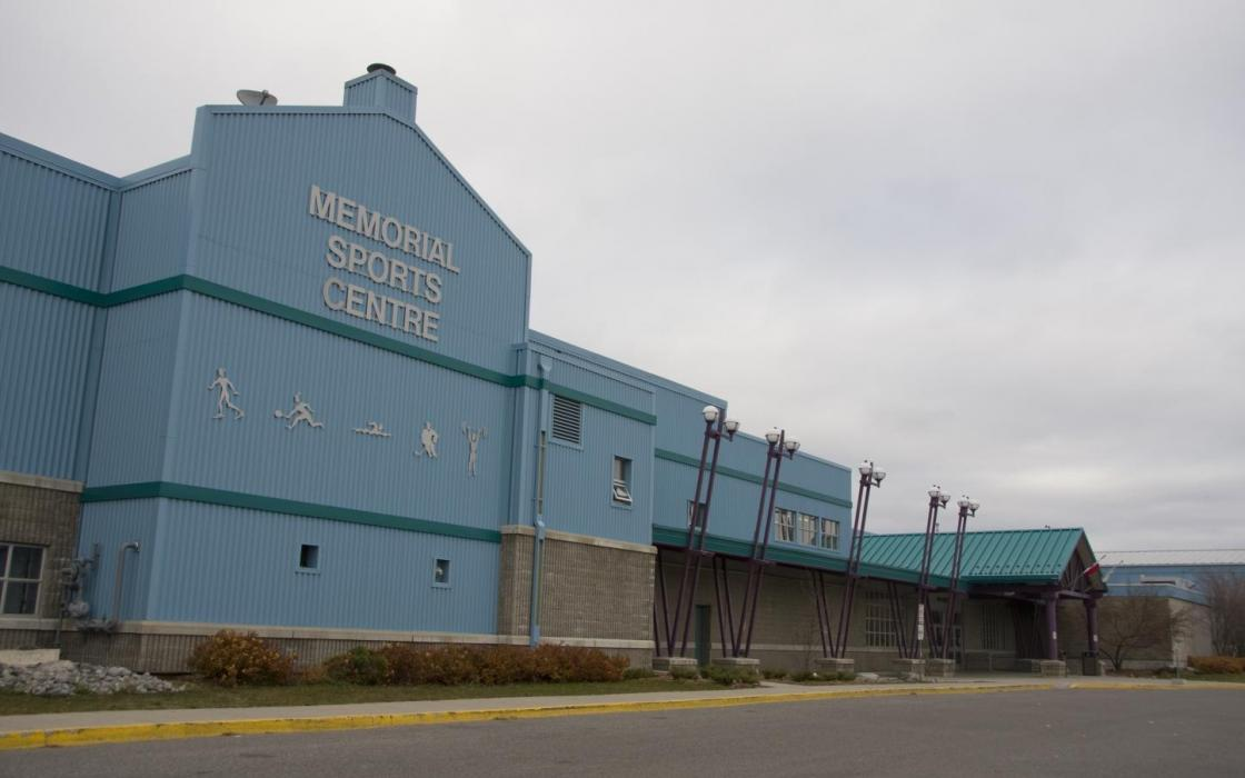 Memorial Sports Centre in Fort Frances