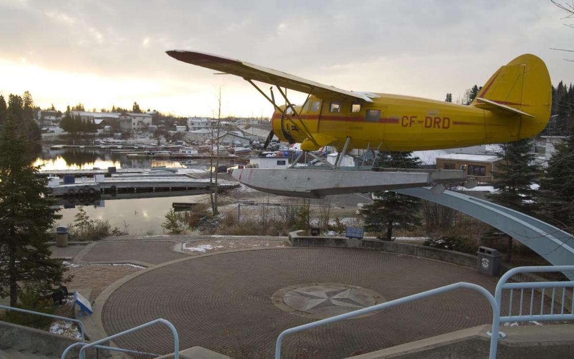 The famous Norseman float plane that was work horse in opening up this area