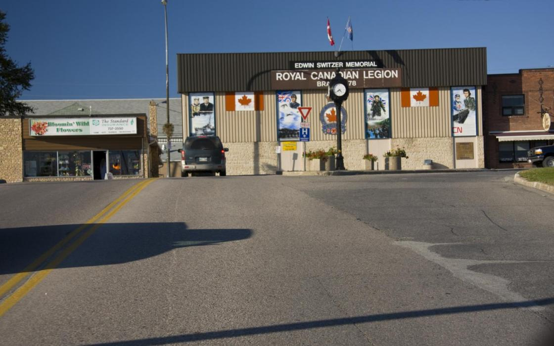 Main corner in Sioux Lookout
