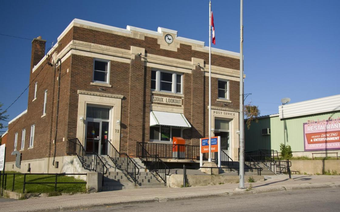 Post Office in Sioux Lookout