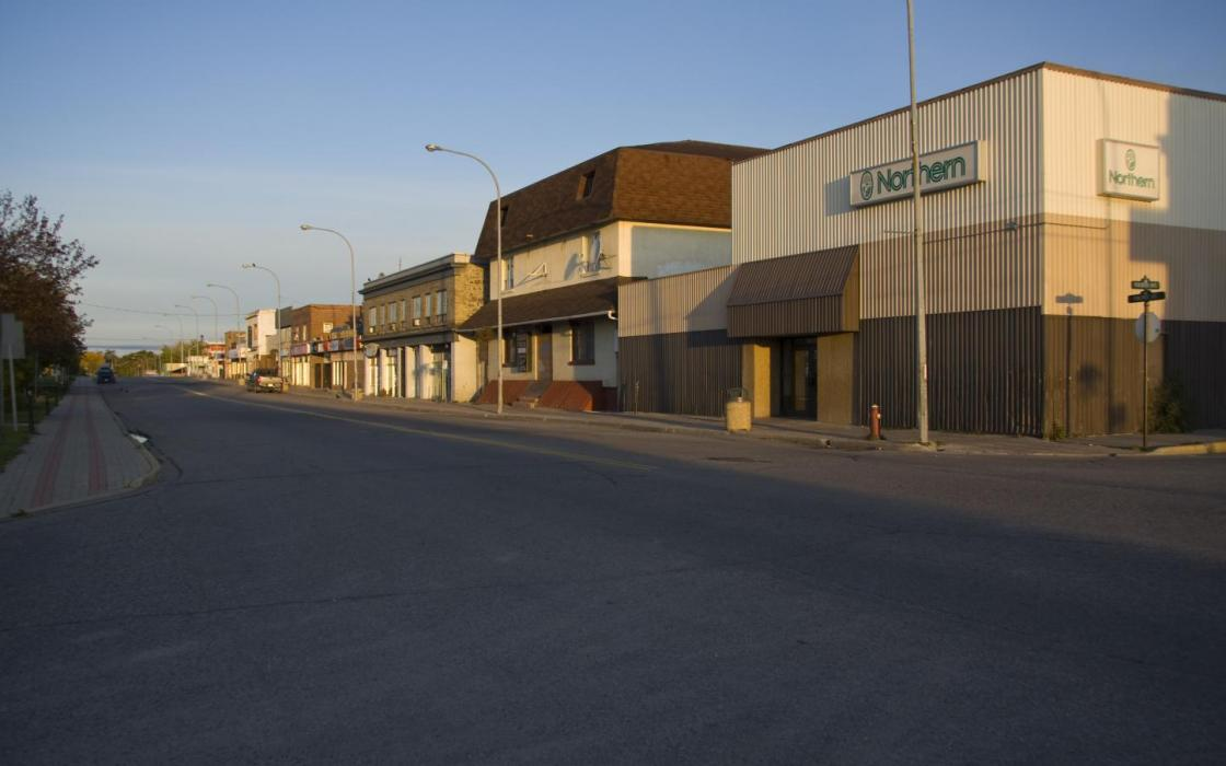 The Northern Store in Downtown Sioux Lookout