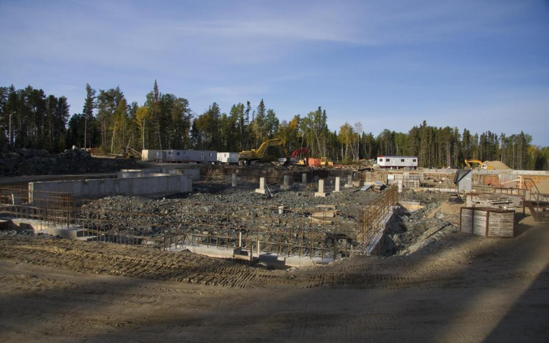Building the new hospital in Sioux Lookout