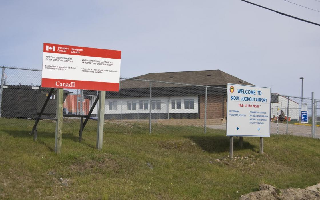 Airport at Sioux Lookout