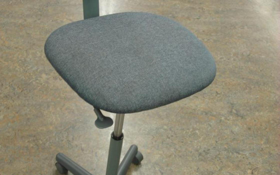Blue Lab Stool