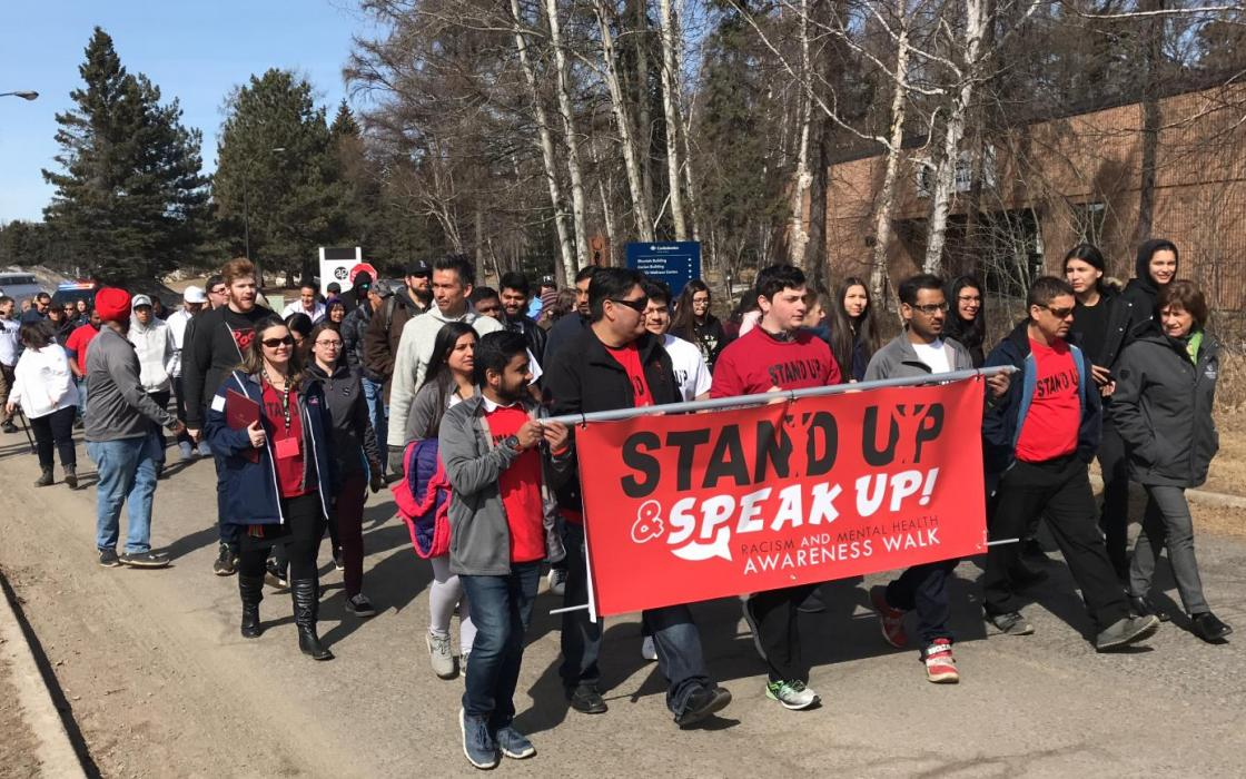 Speak Up & Stand Up Walk in Unity
