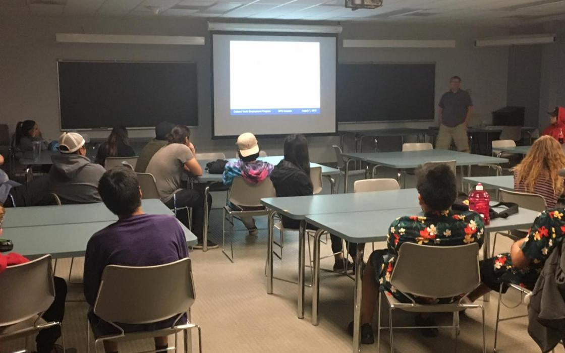 Science Week Introduces Indigenous Youth to Careers in Natural Resources