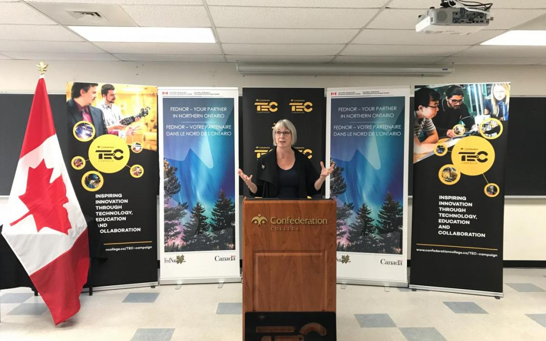 Canada Investing $1 Million in Confederation College