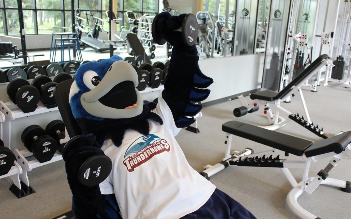 SUCCI Wellness Centre, Minowaadiziiwin - Weight & Cardio Room