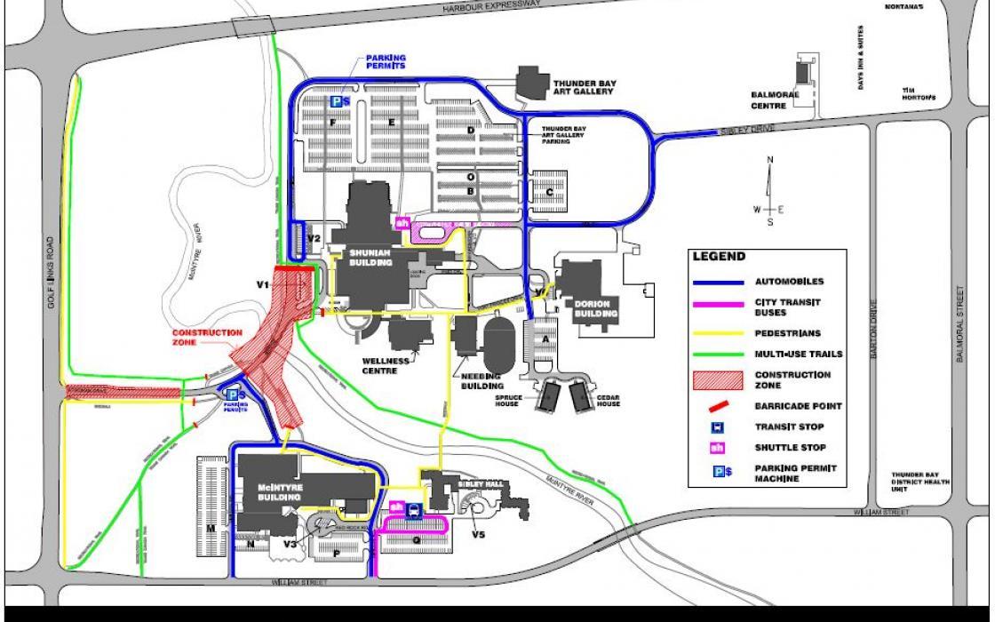 Campus Map - August 17