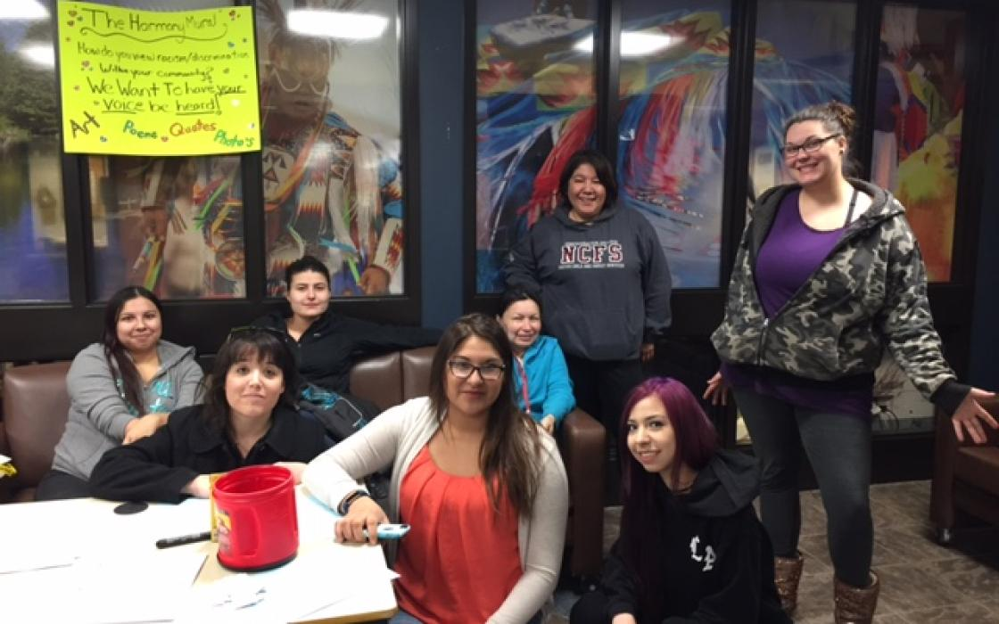 NCFS (2nd Year) Student - Raising Awareness about their Harmony Mural and looking for submissions.