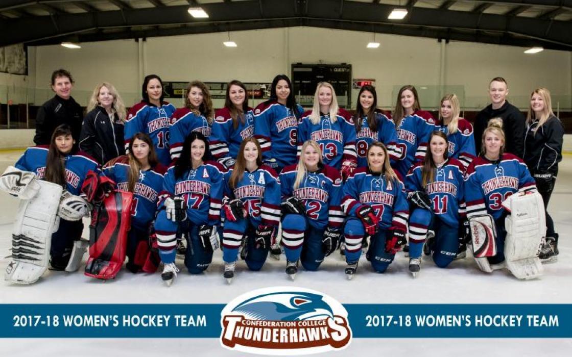 2017-18 Women's Hockey Team
