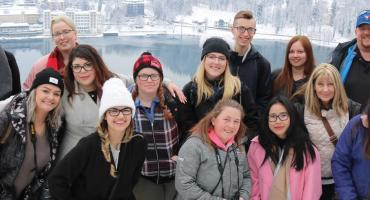 Tourism Travel and Eco Adventure students on international trip