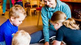Early Childhood Educators and Education Support Workers are in high demand. Join an Information Session to learn more.