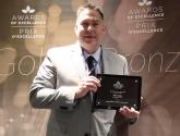 Chris Cartwright Wins CICan Bronze Student Leadership Excellence Award