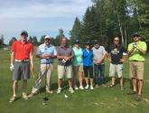 Golf Team at the Greenstone Tournament