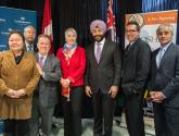 Minister Bains Visits Confederation College