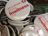 Every I AM A WITNESS BUTTON supports the work of the First Nations Child & Family Caring Society.  Together we can make a difference.  Get your pin for $2.00 from CYC Program.