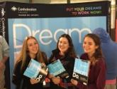 Students with DreamDo booklets